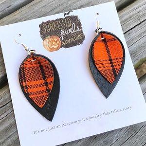 SALE🧡NEW🖤Fall Leather Earrings!